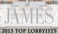 James 2015 Top Lobbyists Logo